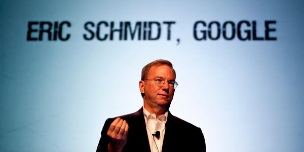 Eric Schmidt, PDG de Google