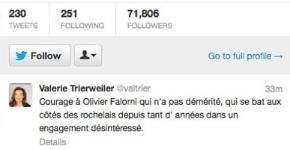 tweet Valerie Trierweiler