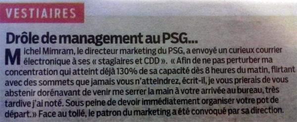 Mail Mimram PSG