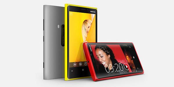 Smartphone Lumia 920 de Nokia