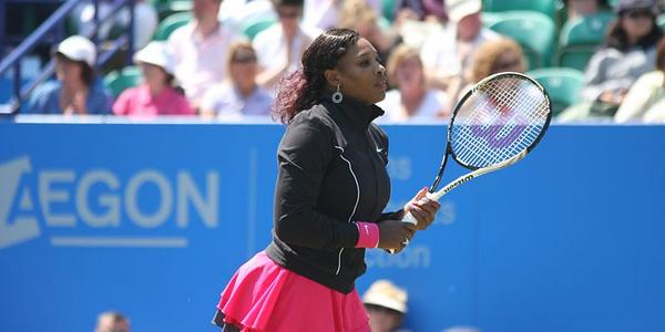 Joueuse de tennis Serena Williams