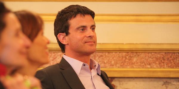 Ministre de l'Intérieur, Manuel Valls