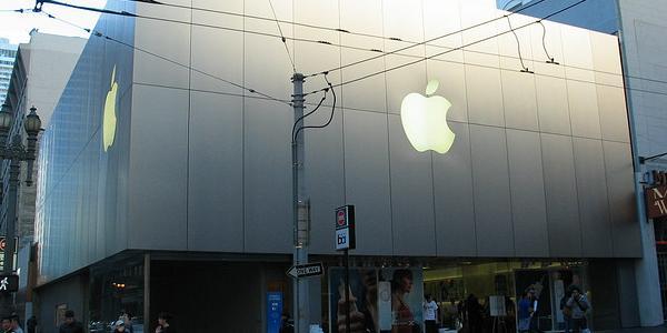 Un Apple store américain