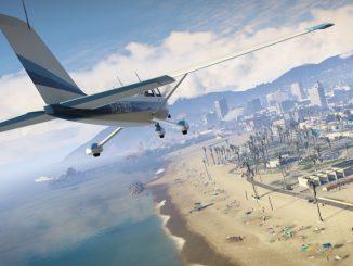 Vol dans les airs avec un avion dans GTA 5