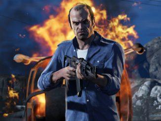 le personnage principal Trevor de GTA 5
