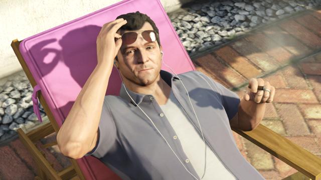 Michael dans GTA 5