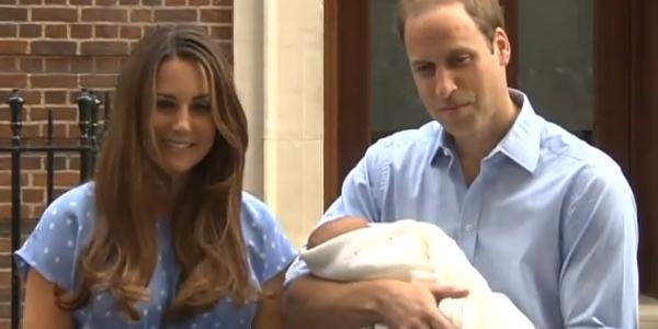 Présentation du Royal Baby