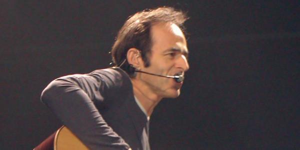 Le chanteur et compositeur Jean-Jacques Goldman