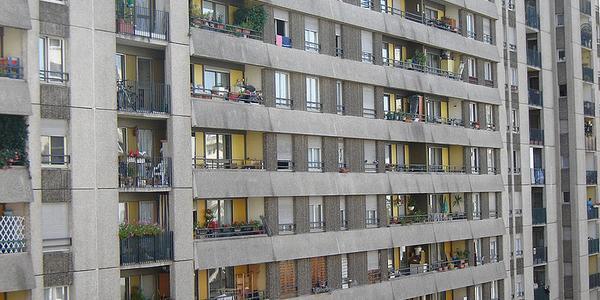 Immeuble en banlieue