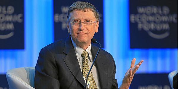 Bill Gates de la société Microsoft