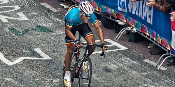 le Cysliste Philippe Gilbert