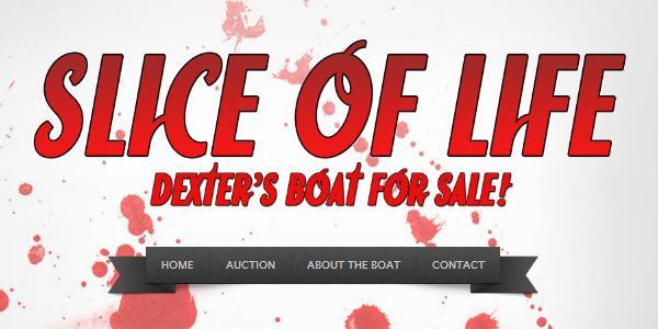Site de vente du bateau de Dexter
