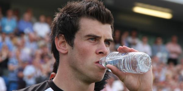 Le joueur de football Gareth Bale
