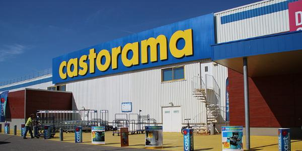 un magasin Castorama