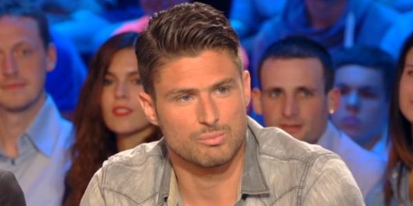 le joueur de football Olivier Giroud