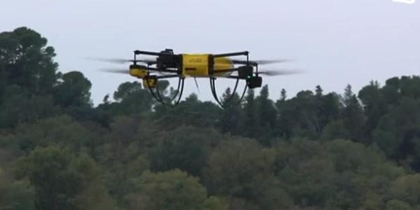 Drones de la SNCF - Crédits : Dailymotion