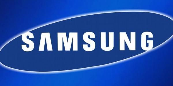 Logo de la société sud-coréenne Samsung