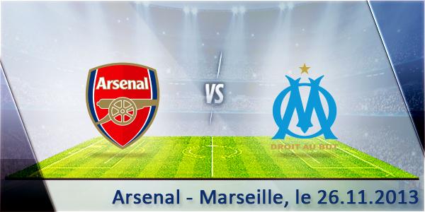 Match Arsenal Marseille