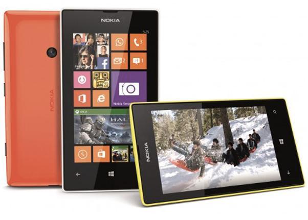le smartphone Nokia Lumia 525