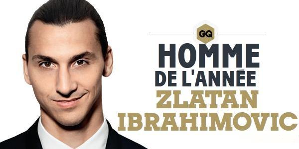 Zlatan Ibrahimovic, l'homme de l'année