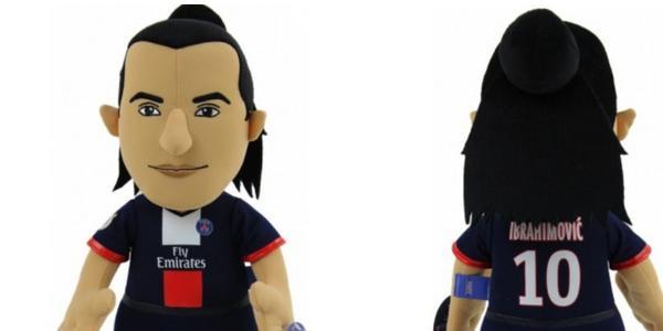 Poupluche de Zlatan Ibrahimovic