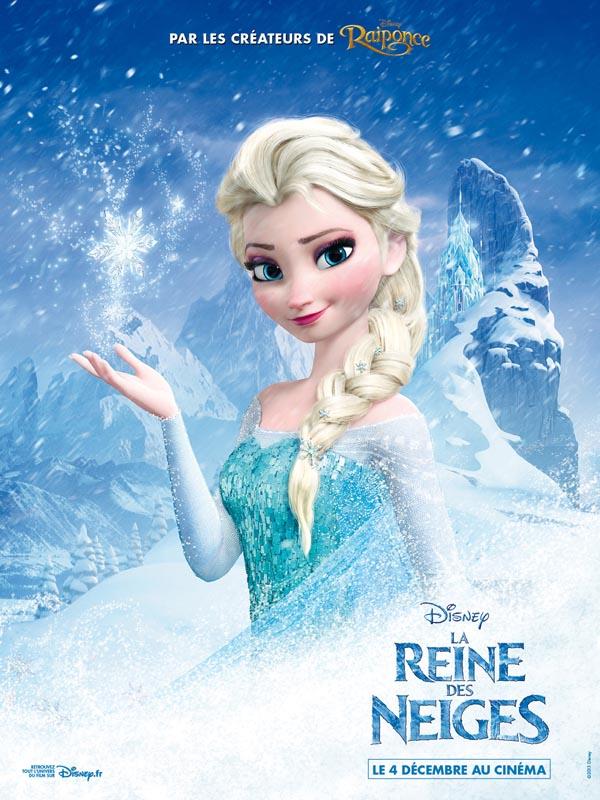 Affiche du film Reine des Neiges