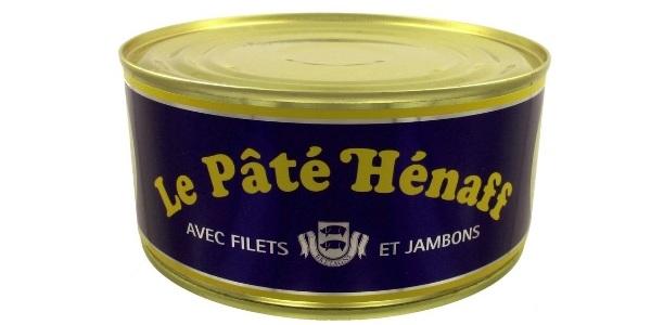 Boite de pâté Hénaff