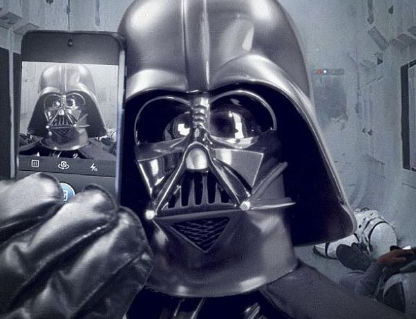 Star Wars sur Instagram