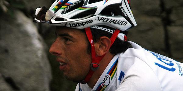 Le cycliste Alessandro Ballan