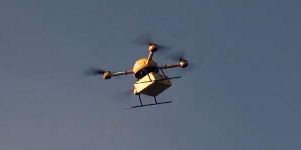Drone de livraison de DHL