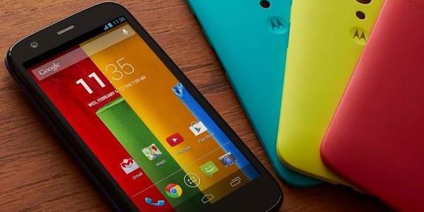 Le smartphone Moto G de Motorola