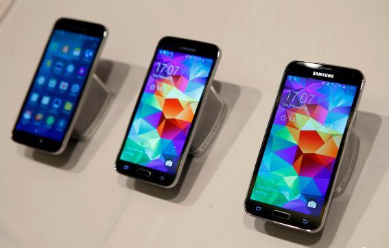 le S5 de Samsung