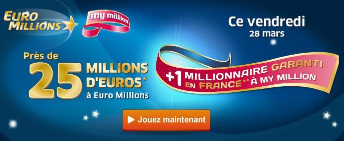 Code My Millions du vendredi 28 mars