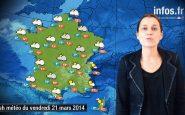Prévisions météo (France) du vendredi 21 mars