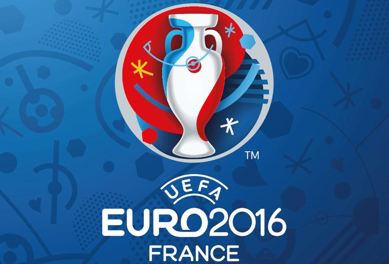 Le logo de l'Euro-2016 de football en France