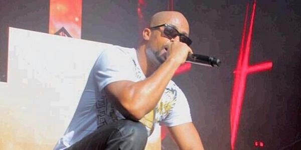 le chanteur de rap Rohff
