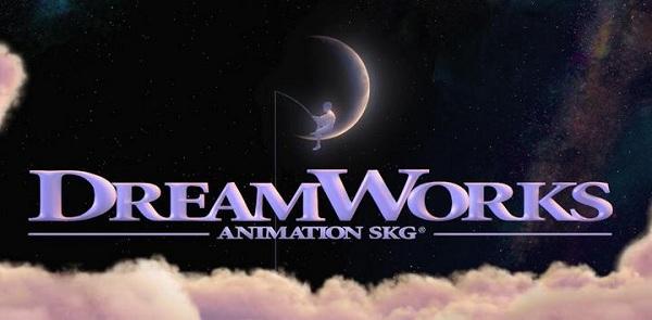 Logo de la société d'animation Dreamworks