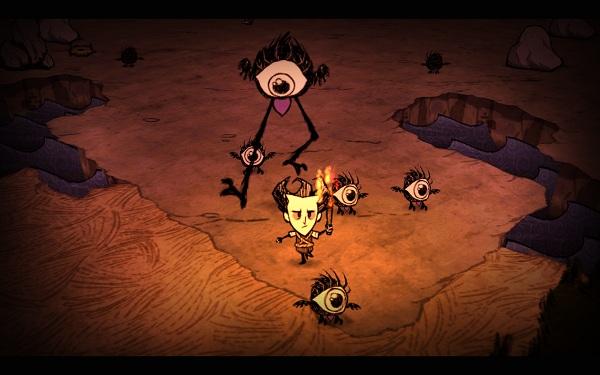 Capture du jeu vidéo Don't Starve