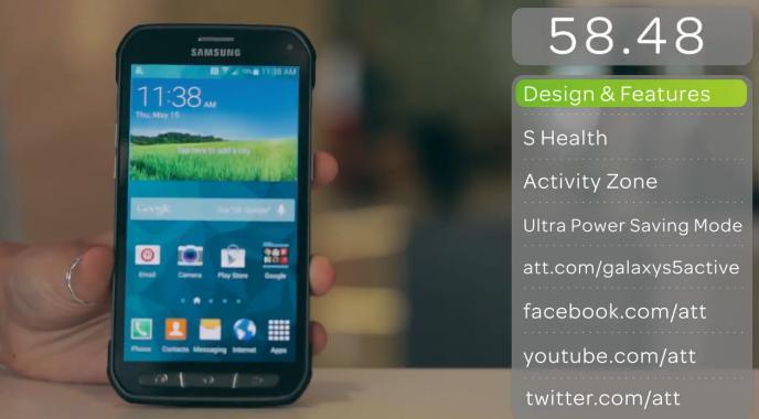 Le Galaxy S5 Active de Samsung