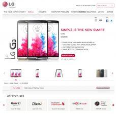 Fiche technique du LG G3