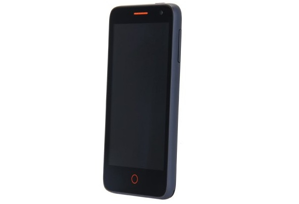 Smartphone Flame tournant sous Firefox OS