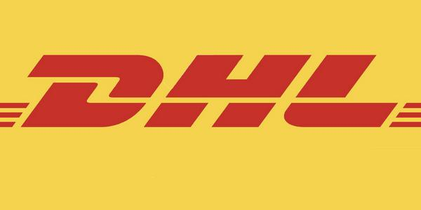 Logo de la société de transport DHL