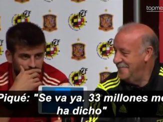 Piqué et le transfert de Fabregas