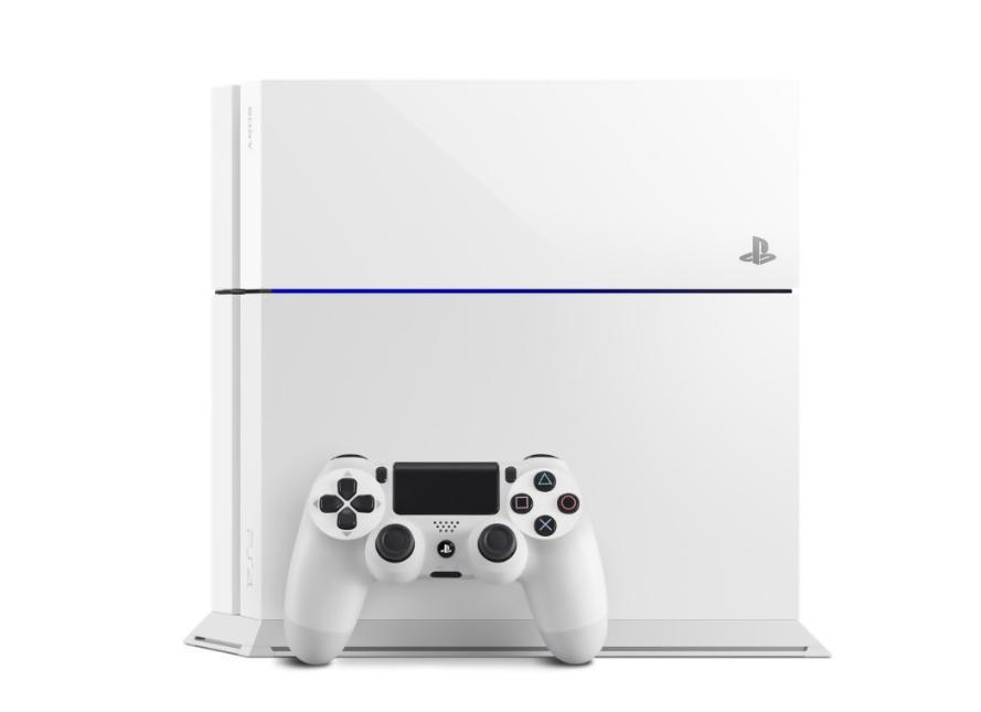 Manette et PS4 blanche