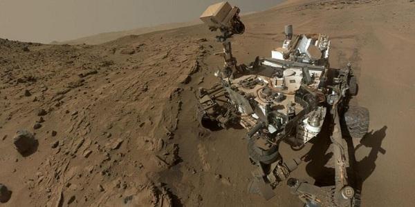Le selfie réalisé par Curiosity sur Mars