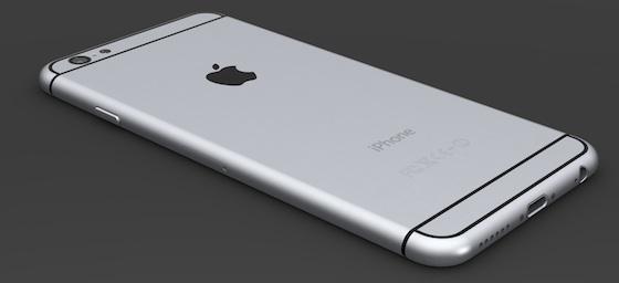 Maquette en 3D du supposé iPhone 6