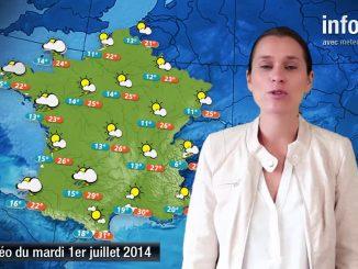 Prévisions météo (France) du mardi 1 juillet