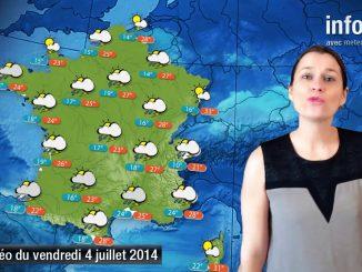 Prévisions météo (France) du vendredi 4 juillet