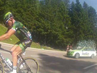 Quand Voeckler s'arrête pendant le Tour de France pour régler ses comptes