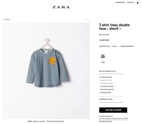 Zara réalise un badbuzz
